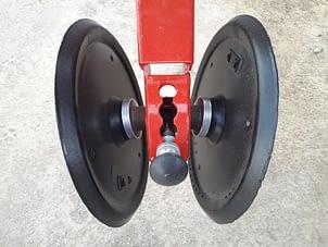 ruedas tapadoras de fundicion